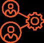 improve collaboration icon
