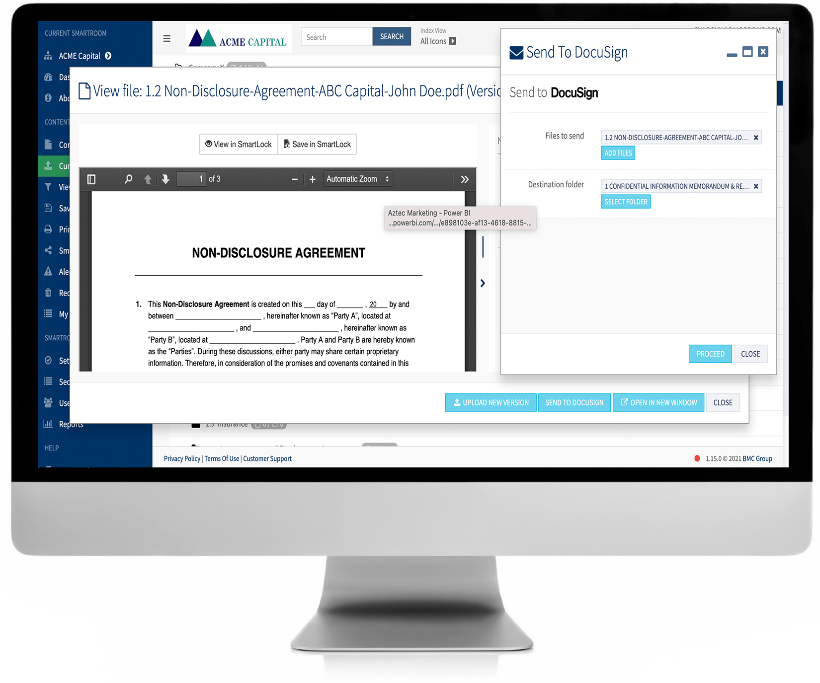 SmartExchange negotiations and contracts